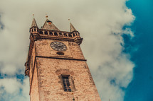 Cathedral clock tower