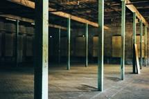 empty warehouse building