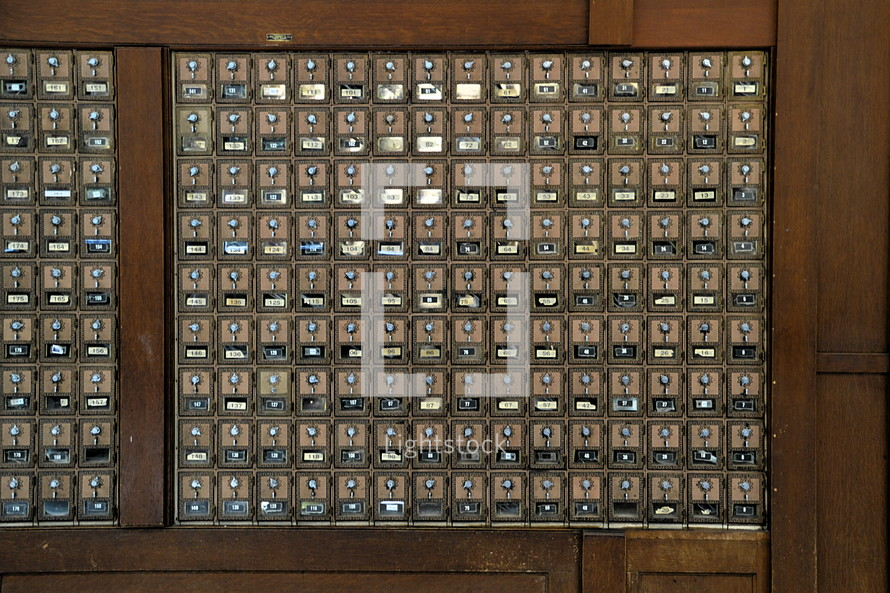 mail lockers