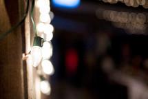 bokeh string of lights