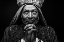 praying wiseman