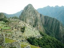 an ancient village ruins