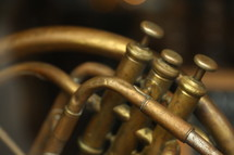valves on a trombone