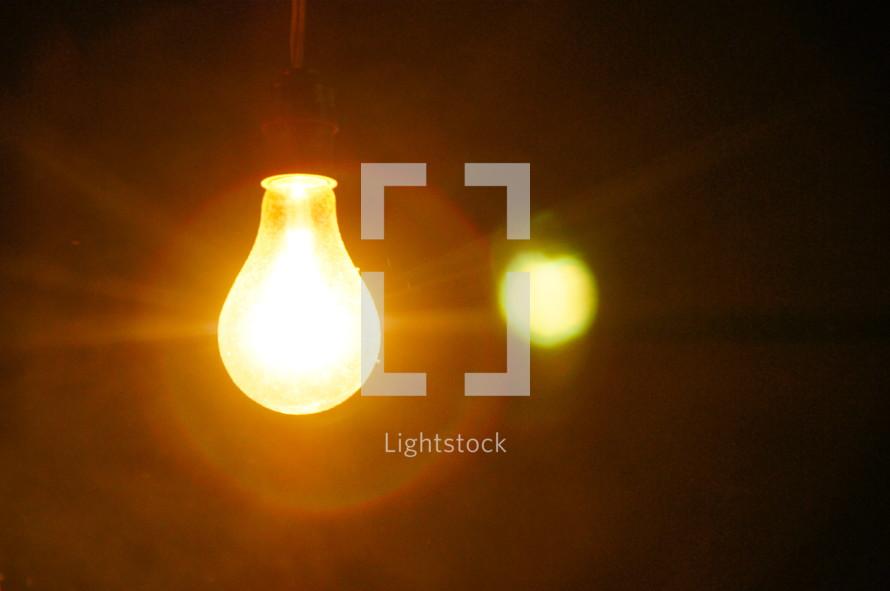 Light bulb illumination