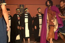 Sanhedrin trial, The trial of Jesus