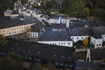 aerial view of Luxembourg