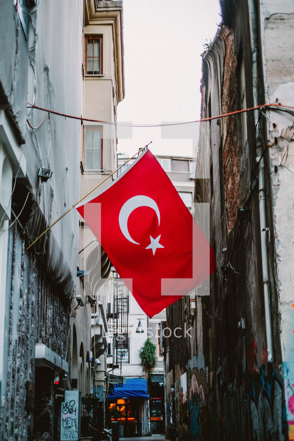 Turkey flag.