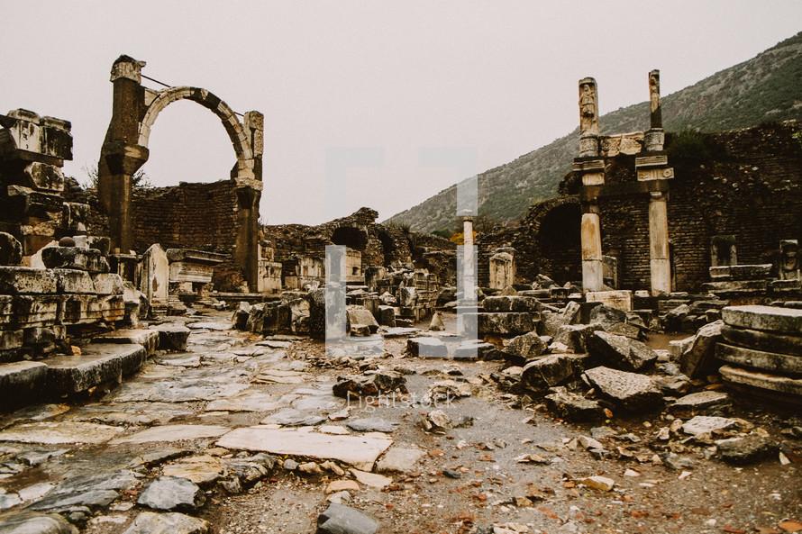 Ruins in Turkey.