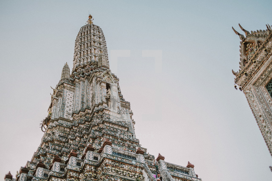 temple tower in Thailand