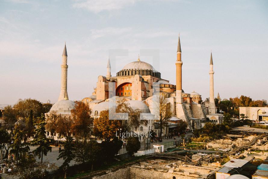 A mosque in Turkey.