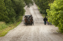 Amish homeward bound