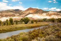 river through mountain landscape