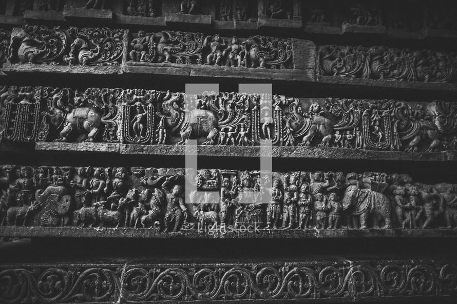 engravings in stone
