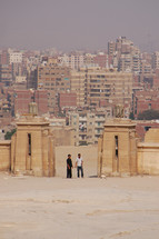 gates to a city in Egypt