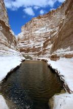 river through a canyon
