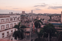 view of downtown buildings in Havana