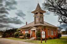 Historical brick Presbyterian Church