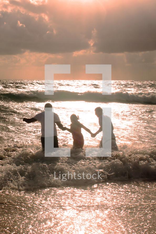 baptism in the ocean
