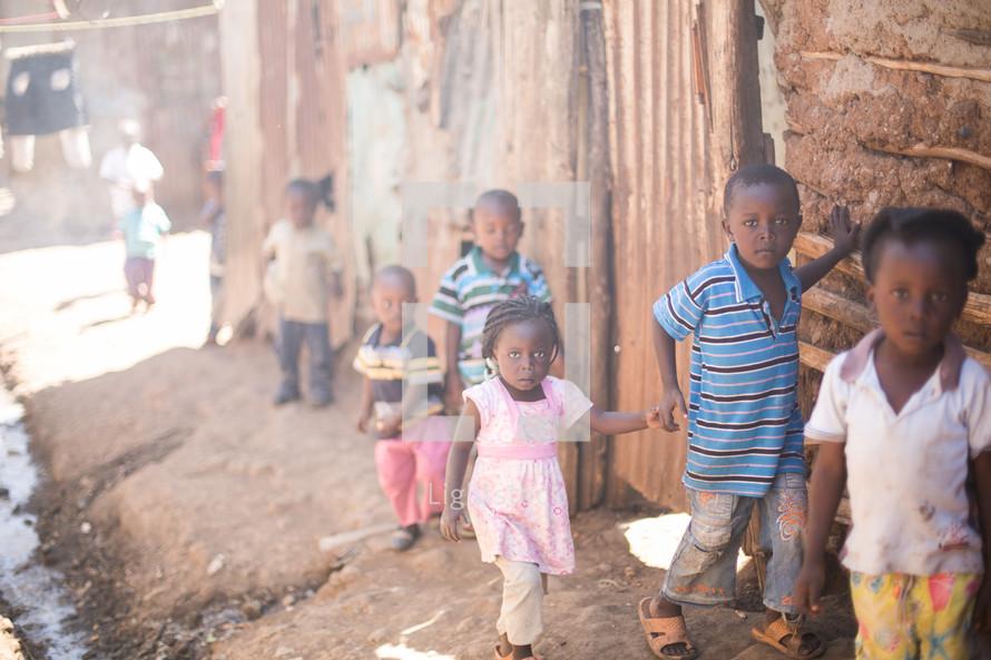 innocent children in Africa