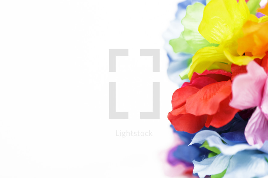 tropical lei flowers
