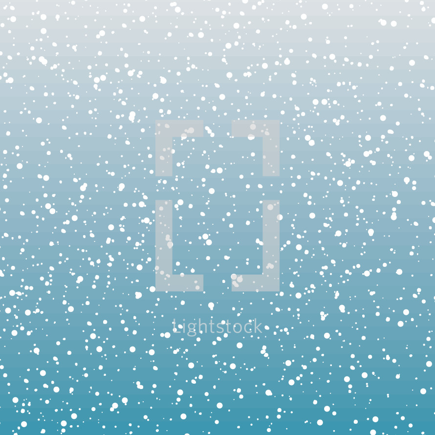 falling snow background.