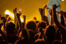 youth at a concert