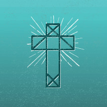abstract cross illustration.