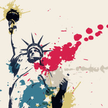Statue of Liberty Illustration.