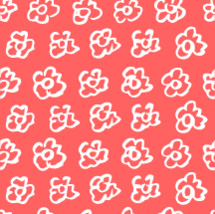 pink floral pattern background