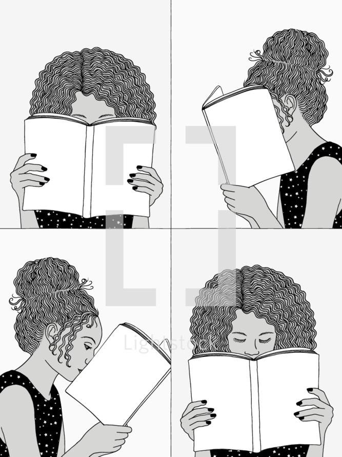 women reading