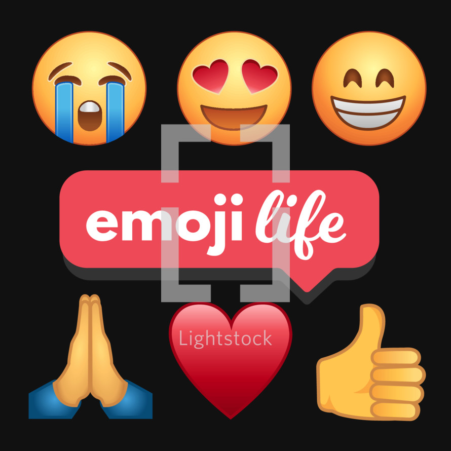 social media emojis for sermon series or youth group