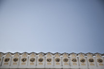 islamic building roofline