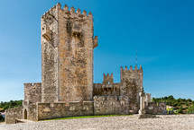 Sabugal Medieva Castle in Portugal
