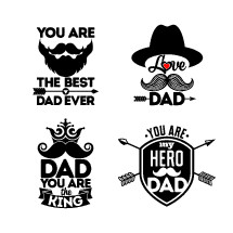 the best dad ever, love dad, dad you are the king, you are my hero dad