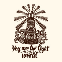 You are the light of the world