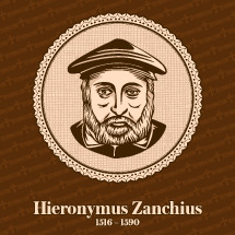 Hieronymus Zanchius (1516 – 1590) was an Italian Protestant Reformation clergyman and educator who influenced the development of Reformed theology during the years following John Calvin's death. Christian figure.