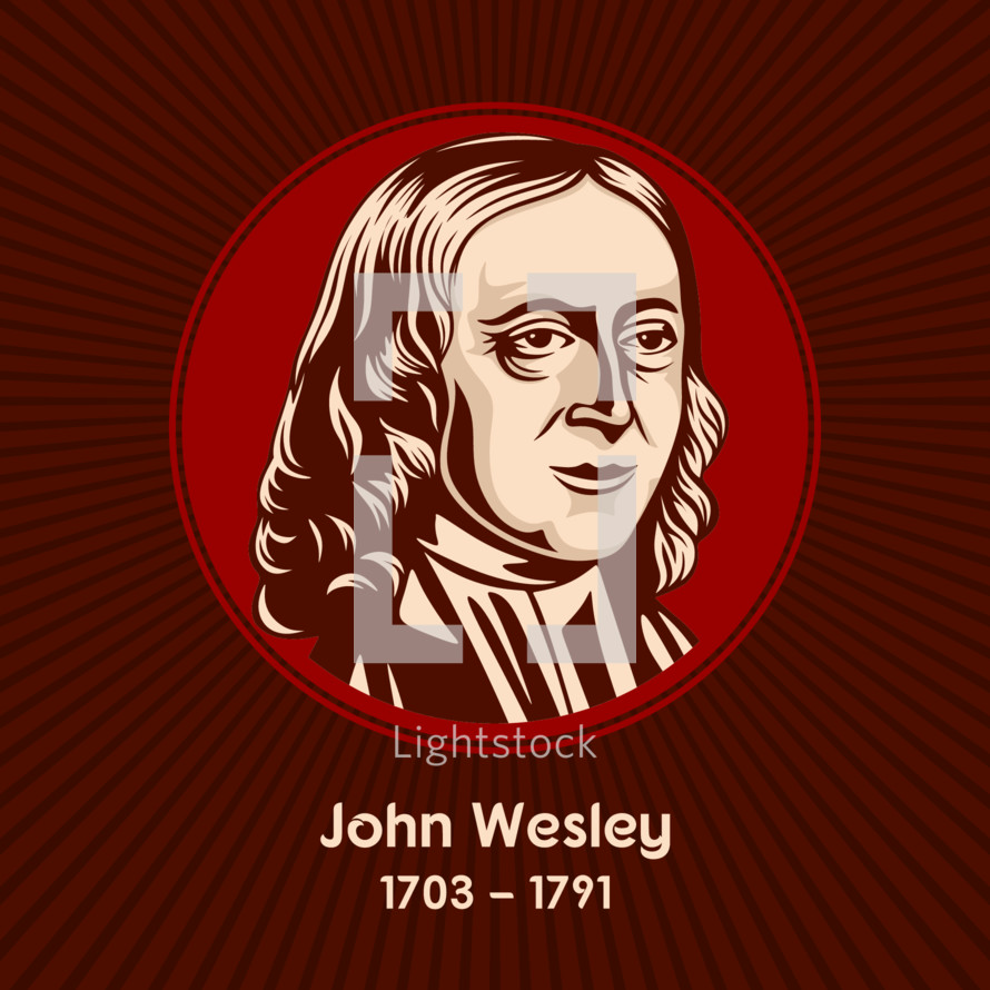 John Wesley (1703-1791) was an English cleric, theologian and evangelist who was a leader of a revival movement within the Church of England known as Methodism.