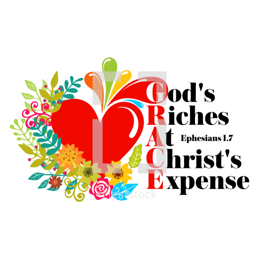 God's riches at Christ's Expense, Ephesians 1:7