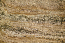 The texture of sandstone.