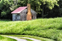 old slave house
