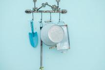 hanging gardening tools