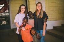 missionaries and children in Kenya