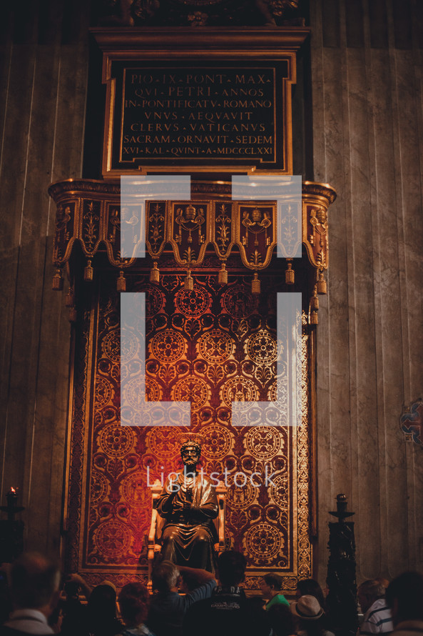 grand cathedral altar