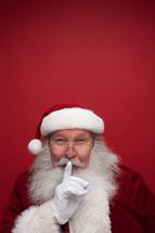 Santa with a secret
