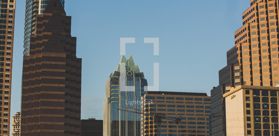 skyscrapers in Austin, TX