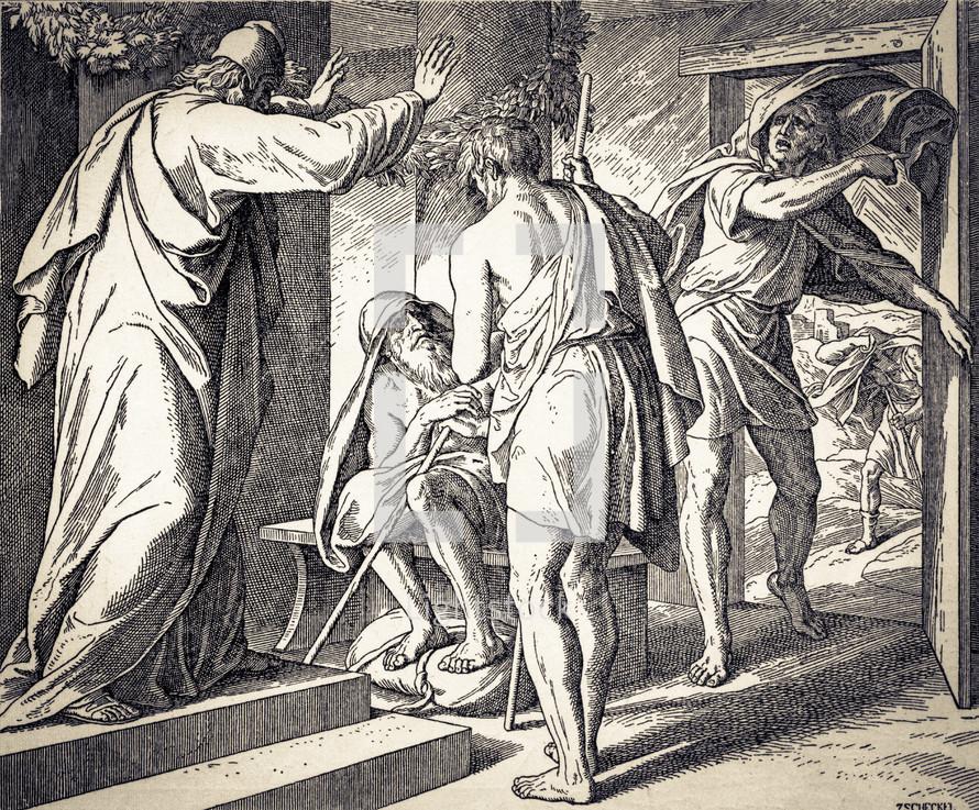 Job Is Tested, Job 1:13-22
