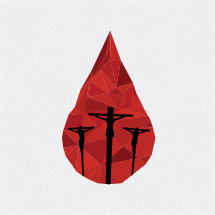 blood drop, crucifixion