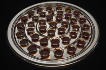 communion wine tray