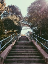 stairs outdoors