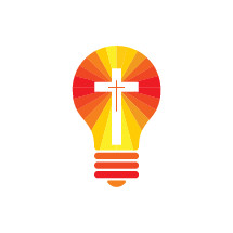 lightbulb and cross icon